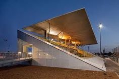 Image result for small grandstand architecture