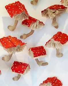 Mushroom Book Installations by Melissa Jay Craig