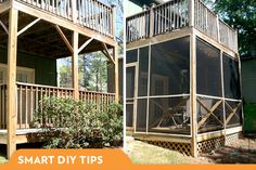 A screened-in porch is a great way to enjoy the outdoors, minus the bugs. But building one isn't as easy as it looks. Here are some smart DIY tips.