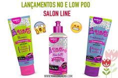 Lançamentos Salon Line para No e Low Poo #todecacho | | Mari Morena |