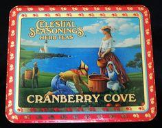 Celestial Seasonings Cranberry Cove Tea Tin  by HeartofWhimsey
