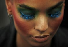 Backstage Vivienne Westwood fashion show Spring-Summer 2012 24