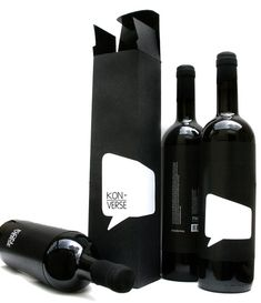 Ever feel like your wine has something to say? This time, it's not just that you're a bit drunk. Thought-bubble vino.