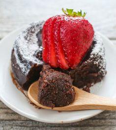 2 Ingredient Flourless Nutella Mug Cake | Kirbie's Cravings | A San Diego food blog