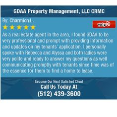 As a real estate agent in the area, I found GDAA to be very professional and prompt with...