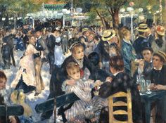 $141,500,000 for Pierre-Auguste Renoir's Bal du moulin de la Galette, 1876. | 15 Of The Most Expensive Paintings In The World