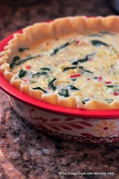 easy brunch quiche that I want to try