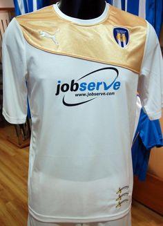 Colchester United Away Kit 2013-14 Puma Championship League, Sports Shirts, The Unit, Kit, Tops, Design, Fashion, Moda, Sport T Shirts