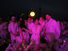 "Dîner en Blanc Shanghai 2015 apparition in: ""Color Blocker"""