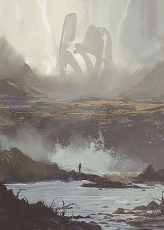 I really like the atmosphere and epical mystery (this is by Victor Mosquera)