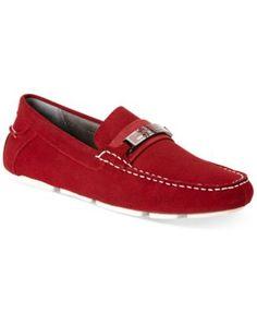 Calvin Klein Milton Suede Bit Drivers - All Men's Shoes - Men - Macy's