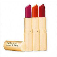 Sam Fine for Fashion Fair Lipstick #LipstickForFairSkin Lipstick For Fair Skin, Blue Lipstick, Lipstick Dupes, Lipstick Colors, Lipsticks, Fashion Fair Makeup, Fresh Makeup, Kissable Lips, Happy Skin