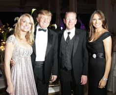 Petra Levin, Donald Trump, Doug Tieman and Melania Trump.
