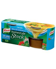 Knorr® Homestyle Stock™ – Reduced Sodium Chicken Stock