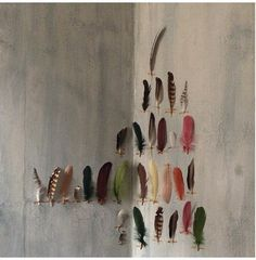 Feathers on the Wall Remodelista