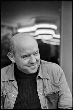 Henri Cartier-Bresson //  French graphic artist, Roman Cieslewicz, 1978