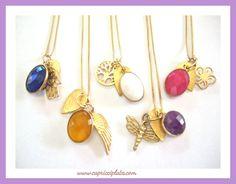 #colgantes #plata #moda #fashion #capricciplata #verano #shopping