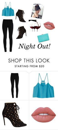 """Night Out!"" by gussied-up on Polyvore featuring TIBI, Bionda Castana, Lime Crime and New Look"