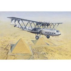 Imperial Airways Handley Page H.P 42 Aviation Airliner Art Print by Artist Roger H. Vintage Air, Vintage Travel, Obama And Biden, Aircraft Painting, Civil Aviation, British Airways, Blue Prints, Art Prints, Military Art