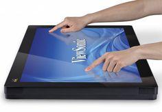 """ViewSonic presenta nuevos monitores de la Serie TD40 de 27"""" y 32"""" con touch de 10 puntos"""