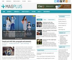 MagPlus Blogger Template