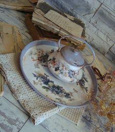 """Купить Набор """"Нежность утра"""" - комбинированный, ретро, утро, кухня, кофе, подарок, винтаж"""