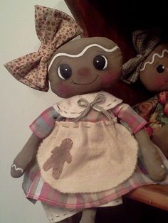 handmade primitive dolls.