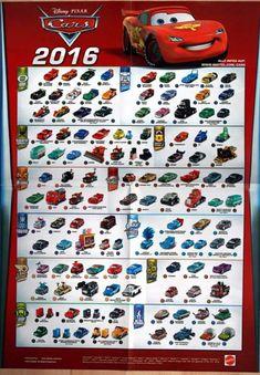 Mattel Disney Pixar CARS 2016 GERMAN Poster (Not Official)