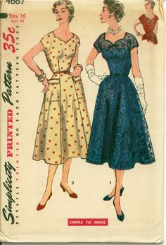 1950's Cocktail Dress for Holiday Parties  by shellmakeyouflip, $25.00