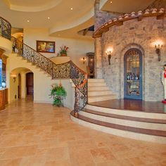 Mediterranean Home Entry Design Ideas, Pictures, Remodel, and Decor - page 23