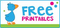 free printable page banner with the lauren mckinsey goose