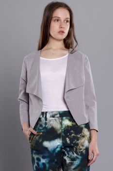 Second Female Alicia Suit Jacket Cool Grey