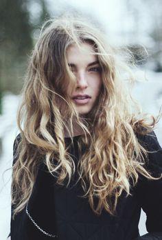 tossled #hair