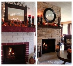 fireplace makeover before and after | Recent Photos The Commons Getty Collection Galleries World Map App ...