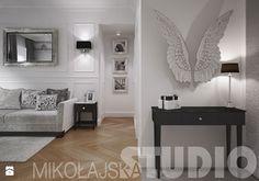 salon w stylu glamour - projekt wnętrz - zdjęcie od MIKOŁAJSKAstudio