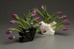 Tulip Vases by HeatherMaeEricksonCeramicDesign, via Flickr