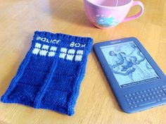 Dr. Who is awesome and so is the Kindle. Bring these two together with the TARDIS Kindle case!