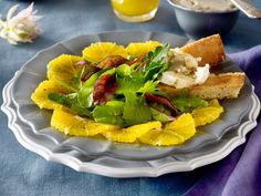 Orangencarpaccio mit Wintersalat Rezept | LECKER