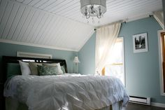 Mineral Blue Paint by Pittsburgh Paints Love this wall color for one of the bedrooms