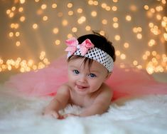 Baby Headband Native American Inspired Cream Turquoise