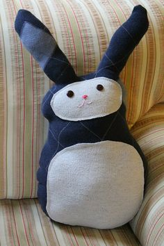 shellmo: Easy Sweater Bunny