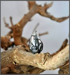Little Honey jar made of Art Clay Silver.