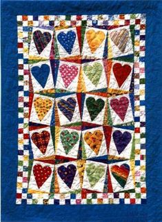 Cute idea for baby quilt