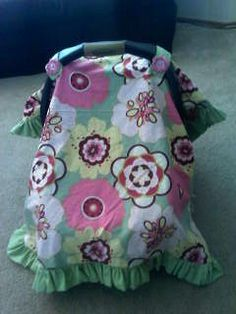 Reversible Carseat Blanket Cover