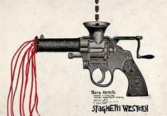 Spaghetti Western, Polish Poster, by Ryszard Kaja , 2011