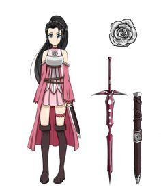 Sword Art Online OC: Hanako by Athena-Rose.deviantart.com on @DeviantArt