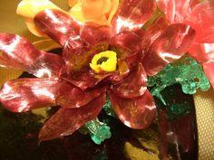 Burgundy Sugar Flower.