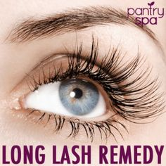 - Long Eyelash Remedy Ingredients: - Vaseline (Petroleum Jelly) How to Make Your Eyelashes Grow Longer: Long, thick, healthy lashes accentuate your gorgeous