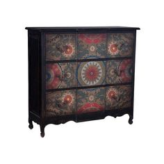 GuildMaster 642527 Chest 52 Inch Wide 3 Drawer Mahogany Chest Black ($1,998) ❤ liked on Polyvore featuring home, furniture, storage & shelves, dressers, black, dresser, indoor furniture, storage, drawer dresser and mahogany wood furniture