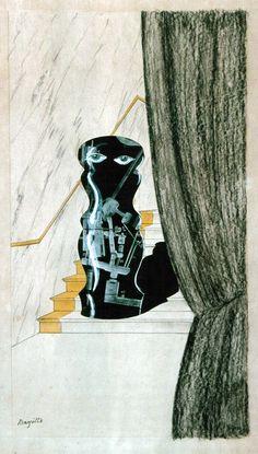 René Magritte - Vous ne Saurez Jamais, 1925